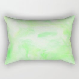 Neon Green Marble Rectangular Pillow