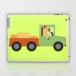 Horse on Truck Laptop & iPad Skin