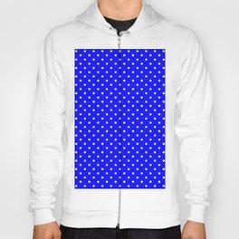 Dots (White/Blue) Hoody
