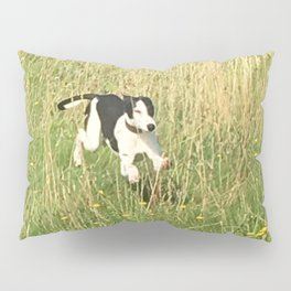 Happiness is running wild and free, and not letting your feet touch the ground! Pillow Sham