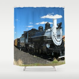 Cumbres And Toltec Steam Engine Shower Curtain