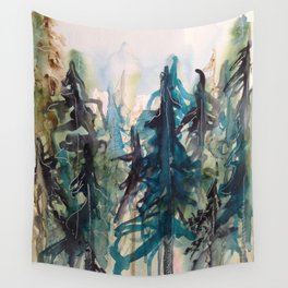 Blue Spruce Wall Tapestry