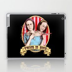 Tattler Twins (color) Laptop & iPad Skin