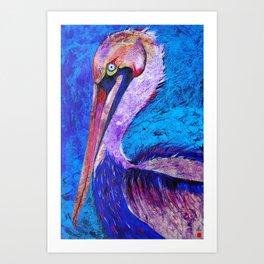 Silly Bird Art Print