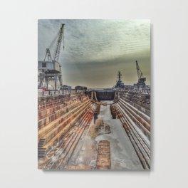 Dry Dock One Metal Print