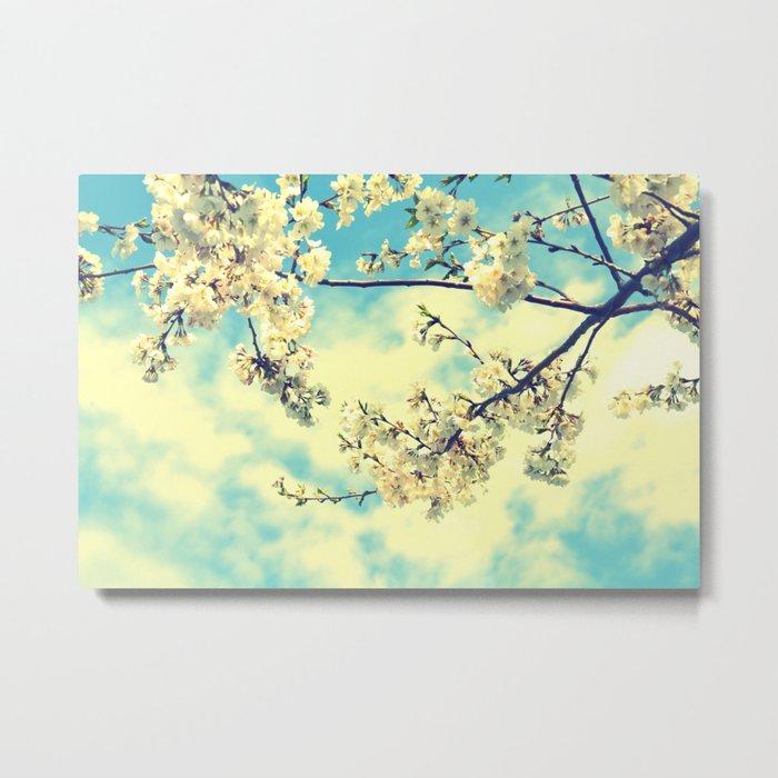 Sweet Blossoms Metal Print