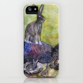 Jack's Family by Maureen Donovan iPhone Case