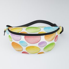 Rainbow Polka Dots Fanny Pack