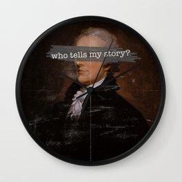 Who Tells My Story? Wall Clock