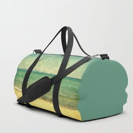 Seascape Vertical Abstract Duffle Bag