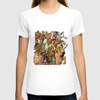 angels T-shirts featuring Angels by Vesna Bursich