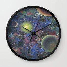 Galaxy. Order in chaos. Wall Clock