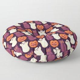 Halloween Marshmallows Floor Pillow