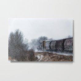 Winter LocomotionIII Metal Print