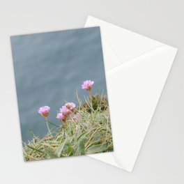 Cliffs of Moher: flowers Stationery Cards