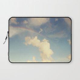 Rainbow Over the Ocean Laptop Sleeve