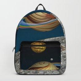 To The Moon And Beyond Backpack