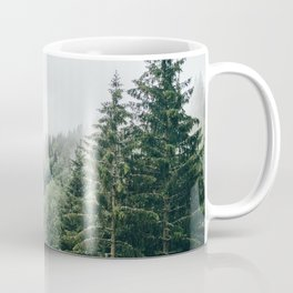 Mist Fog Forest Coffee Mug