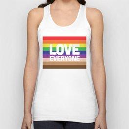 Love Everyone Flag Unisex Tank Top