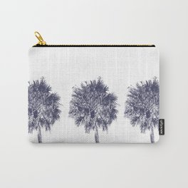 Three & Two Palm Trees Carry-All Pouch