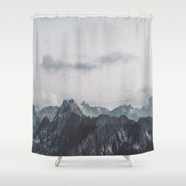 Calm - landscape photography Shower Curtain