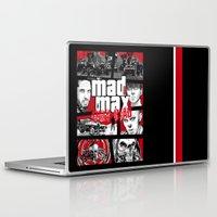 gta Laptop & iPad Skins featuring Mashup GTA Mad Max Fury Road by Akyanyme