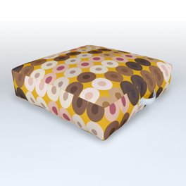 Breast Wishes (mustard) Outdoor Floor Cushion