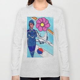 Fly To Korea With Me Long Sleeve T-shirt