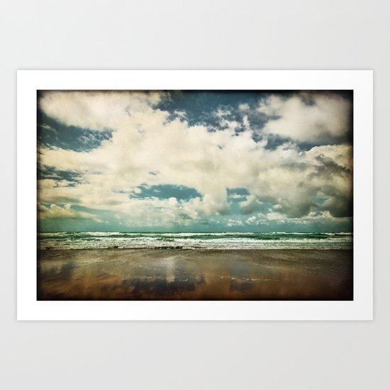 Beside the Sea VIII Art Print