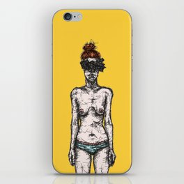 Tumor Face iPhone Skin