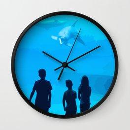 Adventure Meeting the sea Wall Clock
