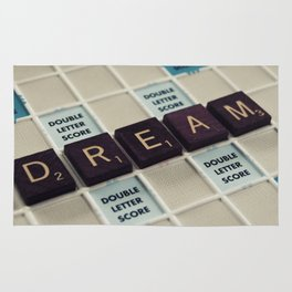 Dream - Scrabble Rug