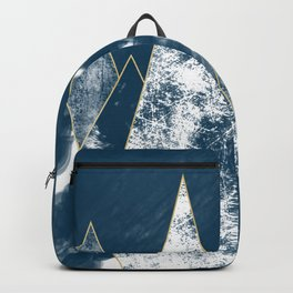Dark Ocean Mountains Backpack