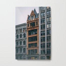 Broadway Architectural Metal Print