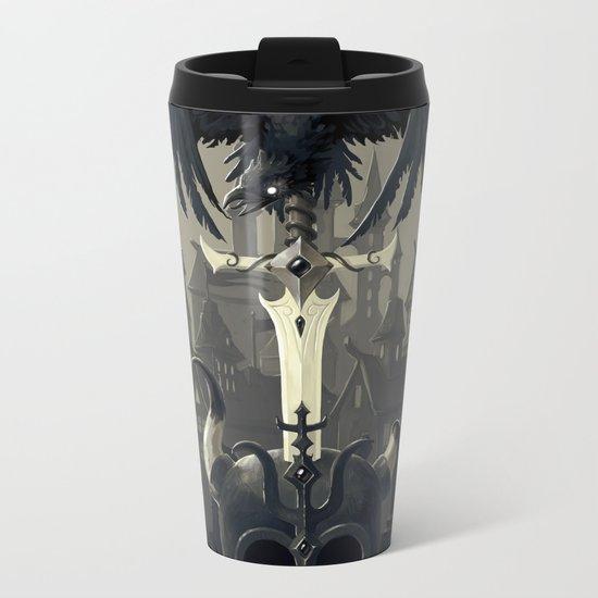 Dark Times Metal Travel Mug