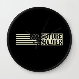 Future Soldier (Black Flag) Wall Clock