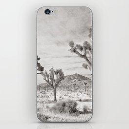 Joshua Tree Grey By CREYES iPhone Skin