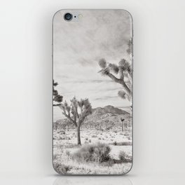 Joshua Tree Grey By CREYES iPhone Skin
