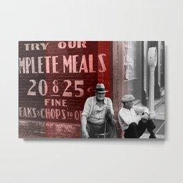 25 Cent Chops Metal Print