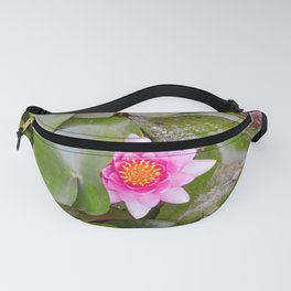 Hidden water flower Fanny Pack