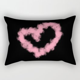 LOVE IN SMOKE Rectangular Pillow