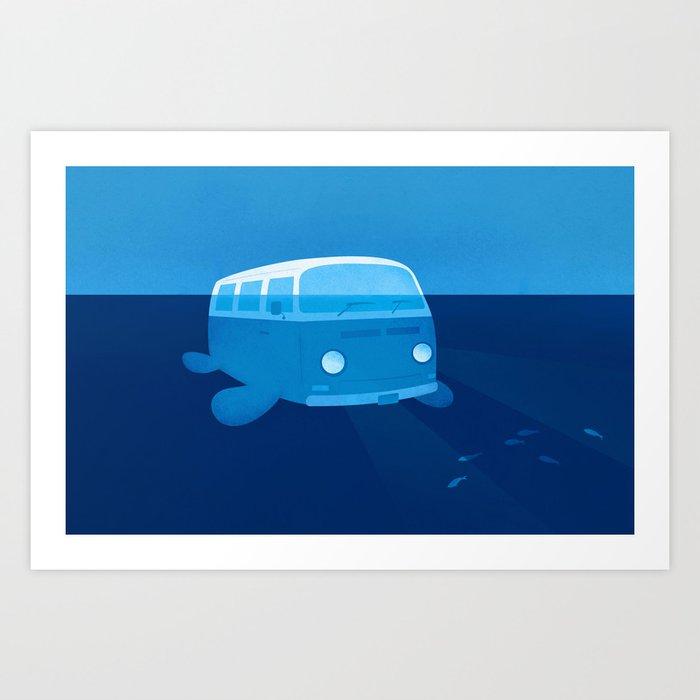 Seabus Art Print
