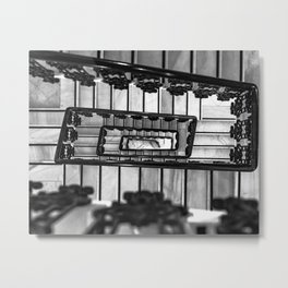 Stairs to even Metal Print