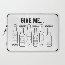 Alcoholism Laptop Sleeve