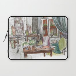 Will and Grace - Grace Adler Designs Studio Watercolor Painting Laptop Sleeve