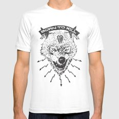 Born to kill Mens Fitted Tee White MEDIUM