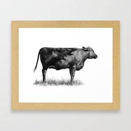 Earl's Cow Framed Art Print