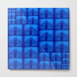 Blue Collar Workers Metal Print