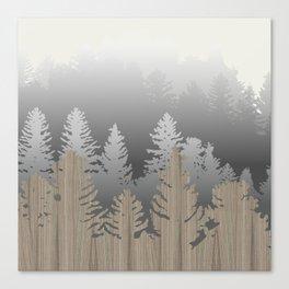 Treescape Large Square Canvas Print