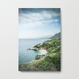 Beach - Landscape and Nature Photography Metal Print